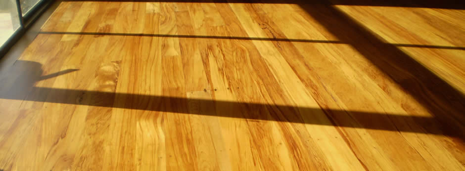 Beautifully sanded and polished wooden floors