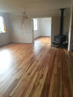 Indoor Floors after sanding